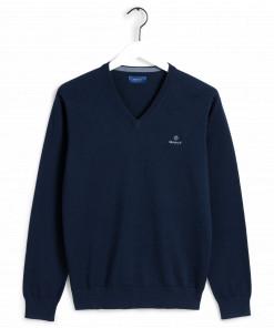 Gant cotton v-neck sweater