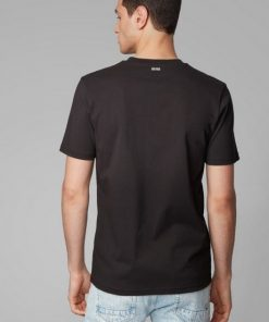 Hugo Boss Troaar Jersey T-shirt Black