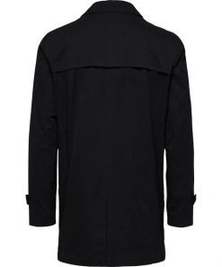 Selected Timeless Coat Black