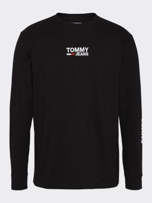 Tommy Jeans Longsleeve Tee Black