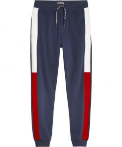 Tommy Jeans Jacquard Flag Sweatpant Dark Blue