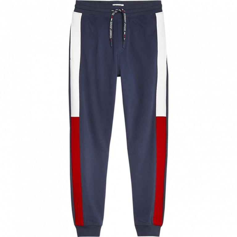 Tommy Jeans Jacquard Flag Sweatpant Dark Blue
