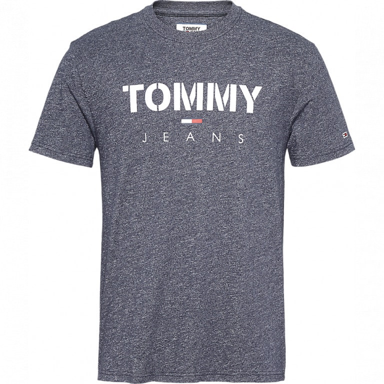 Tommy Jeans Textured Tee Red