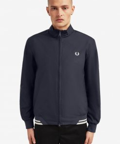 Fred Perry Twin Tip Sports Jacket Navy