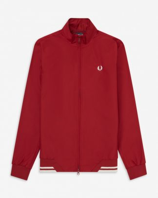Fred Perry Twin Tip Sports Jacket Red