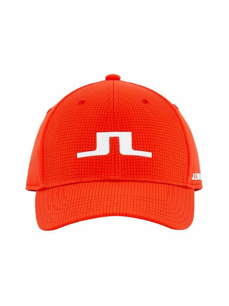 J.Lindeberg Caden Cap Red
