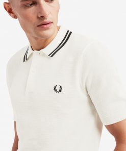 Fred Perry textured knit