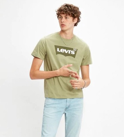 Levi's Housemark Graphic T-shirt Green