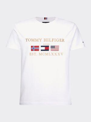 Tommy Hilfiger Three Flags T-shirt White