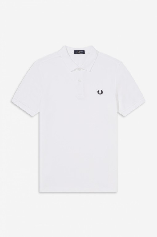 Fred Perry Plain Shirt White