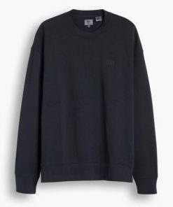 Levi's Authentic Logo Crewneck Black
