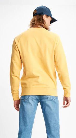 Levi's Original Iconic Crew Yellow