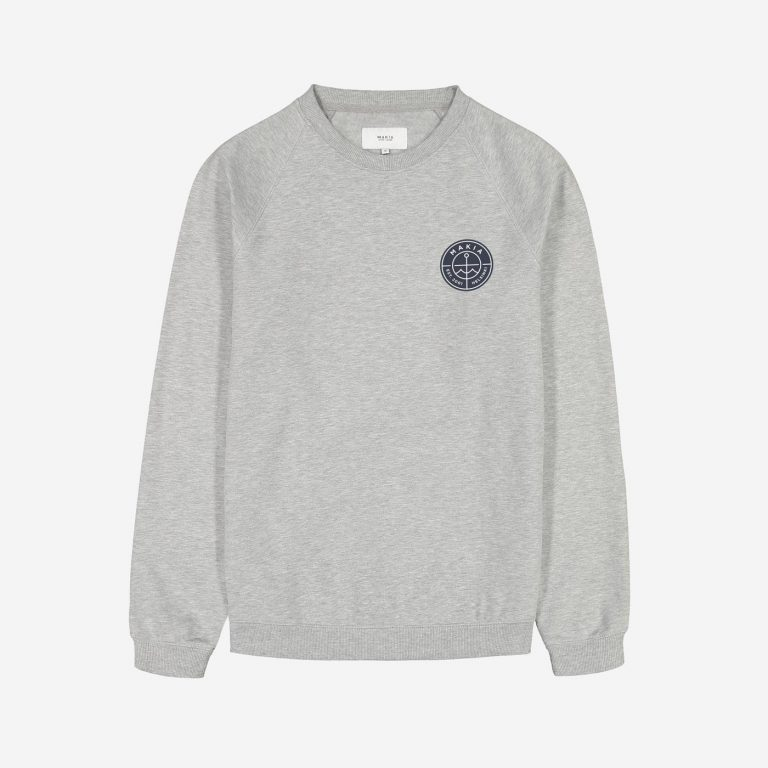 Makia Esker Light Sweatshirt Light Grey