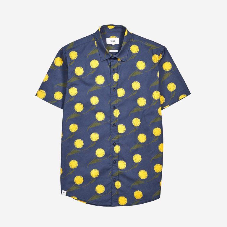 Makia Feral Shirt Blue