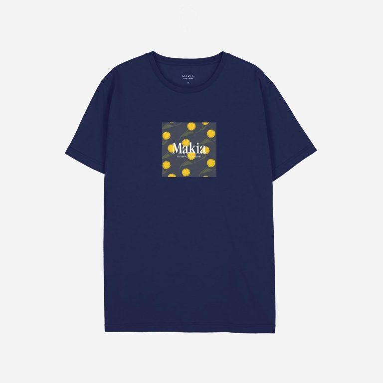 Makia Keltano T-Shirt Blue