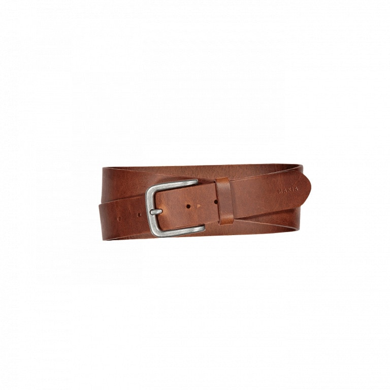 Makia Standard Belt Brown