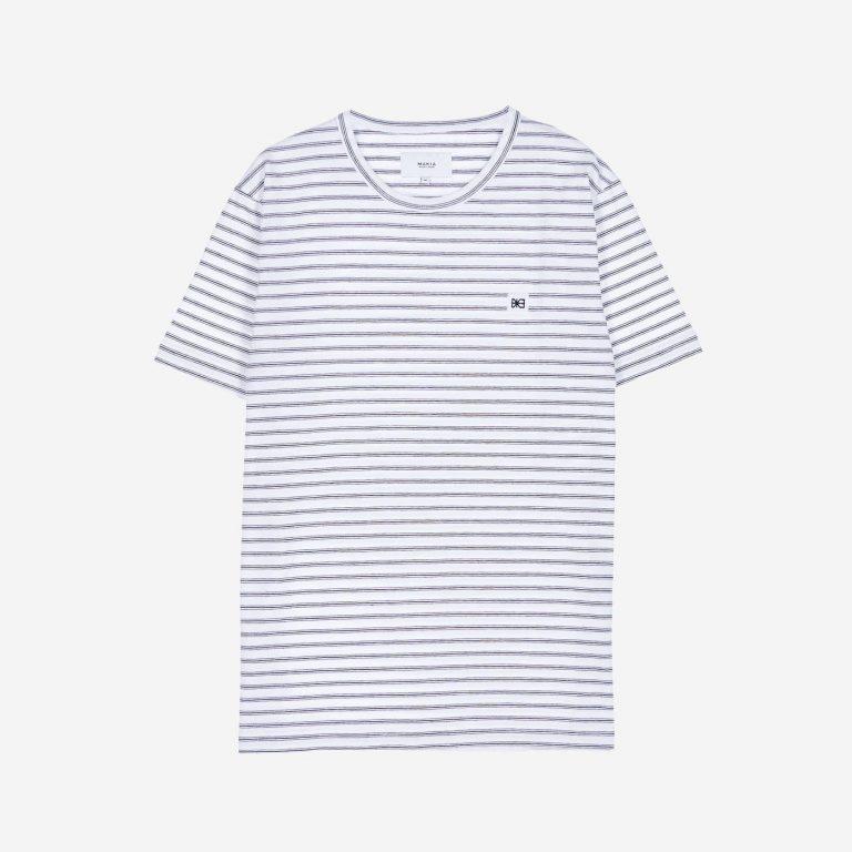 Makia Trek T-Shirt White