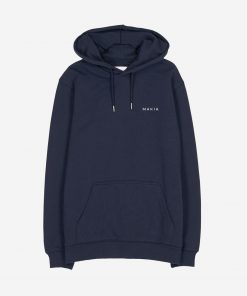 Makia Trim Hooded Sweatshirt Dark Blue