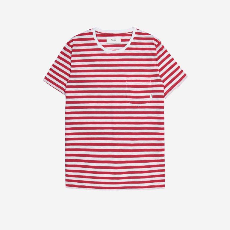 Makia Verkstad T-Shirt Red-White