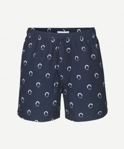 Samsoe&Samsoe Mason Swim Shorts Blue Dots