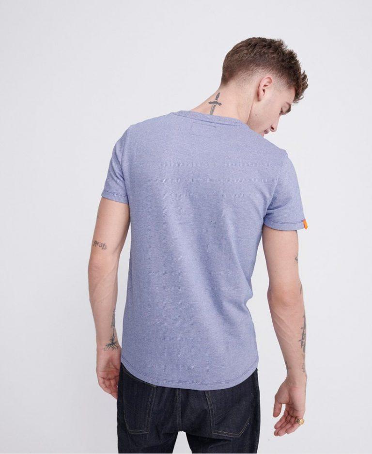 Superdry Vintage Embroidery T-shirt Light blue
