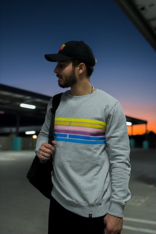 Billebeino Scale Sweater Grey