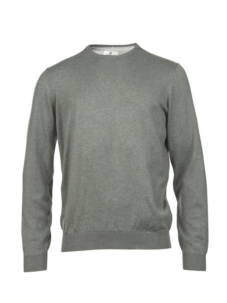 Hansen & Jacob Cotton Cashmere Crewneck Green