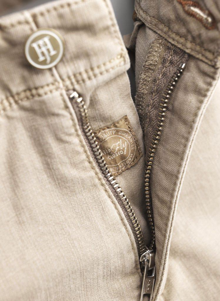 Hansen & Jacob 5Pkt Cut'n Sew Trousers Brown