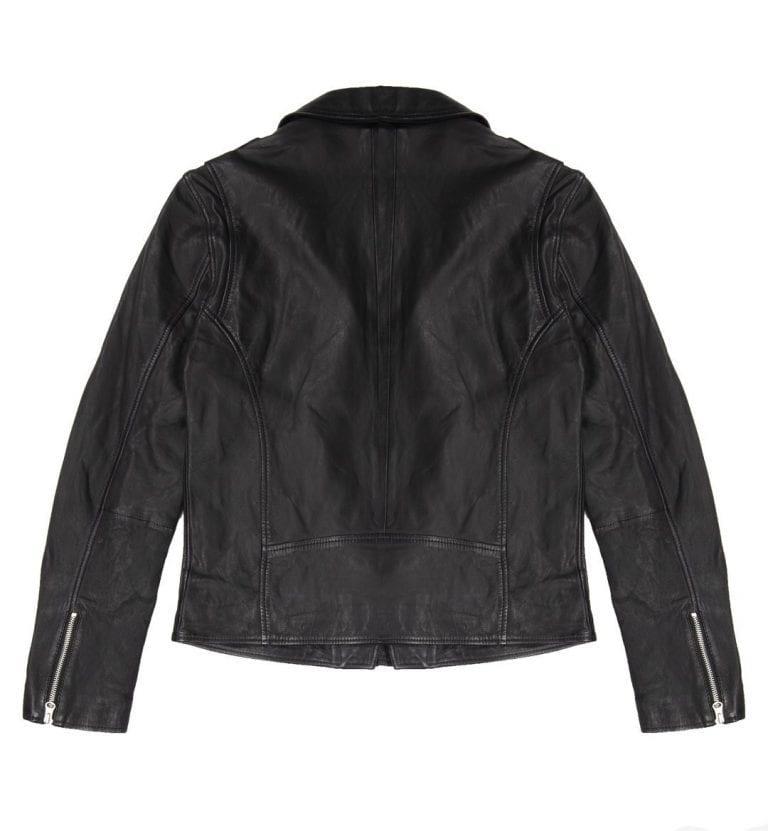 Human Scales Adam Leather Jacket Black