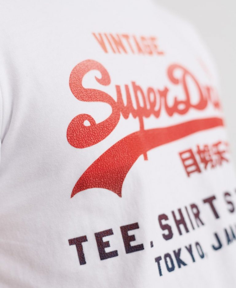 Superdry Fade T-Shirt White