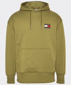 Tommy Jeans flag patch hoodie