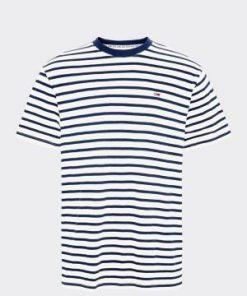 Tommy Jeans Tommy Stripe Tee Navy