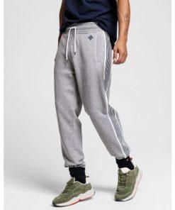 Gant Stripe Sweat Pants Grey