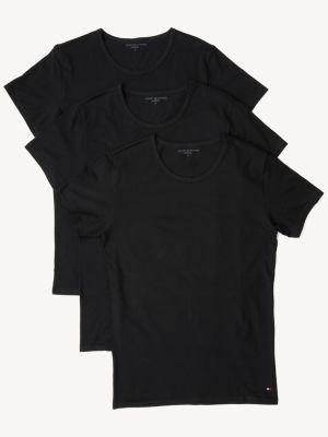 Tommy Hilfiger 3-pack T-shirt Black