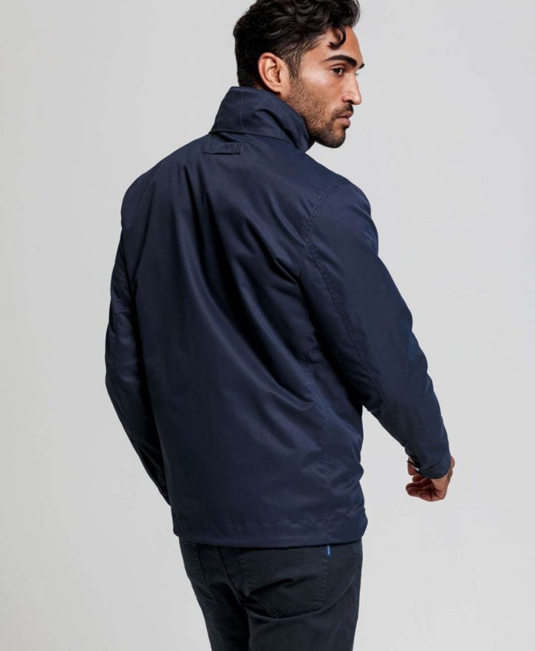Gant Light Mid-length Jacket Evening Blue