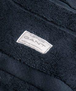 Gant Home Organic Cotton Premium Terry Towel Sateen Blue