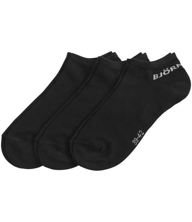 Björn Borg Essential 3-pack Socks Unisex Black