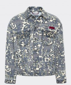 Tommy Jeans Camo Trucker Jacket