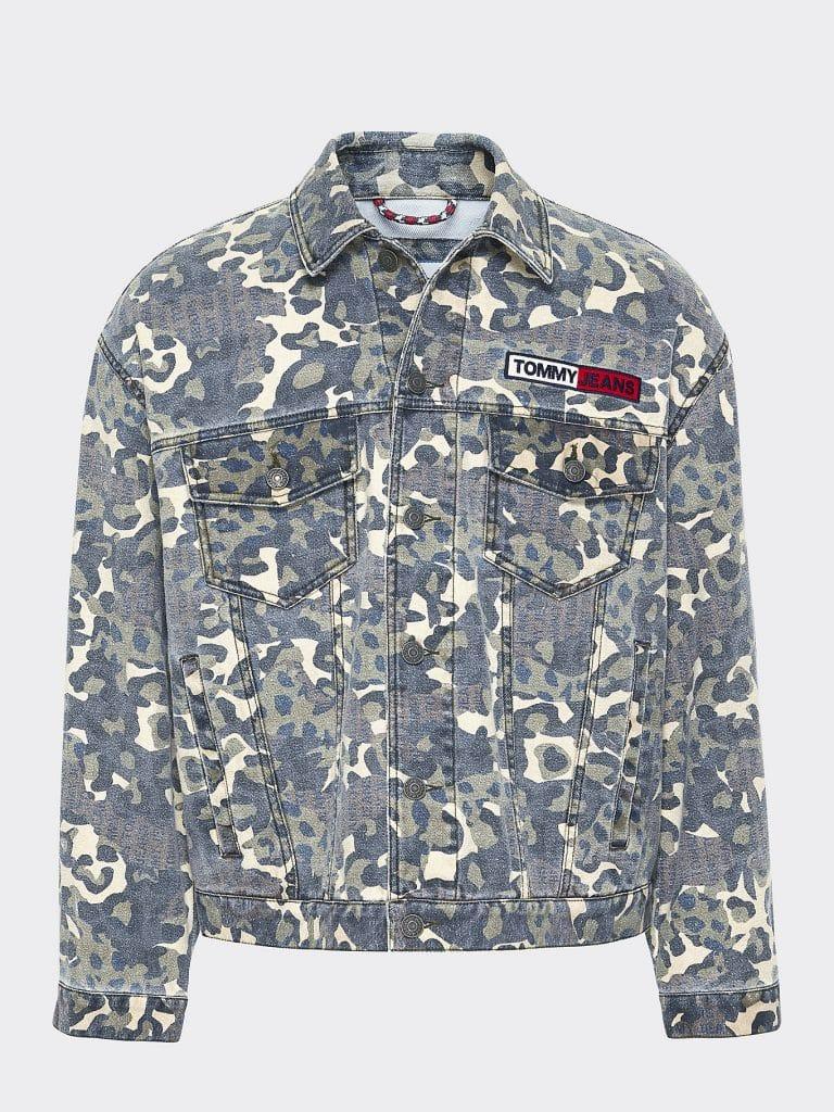 Tommy Jeans Camo Trucker Jacket