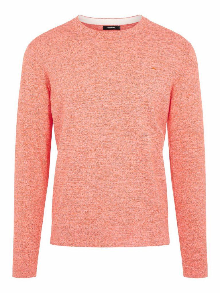 J.Lindeberg Niklas Knitted Sweater Coral red