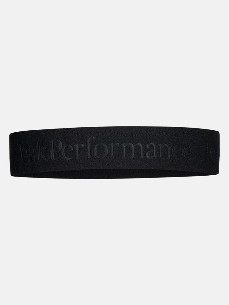 Peak Performance Arnie Headband Black