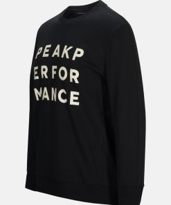 Peak Performance Ground Sweater Black