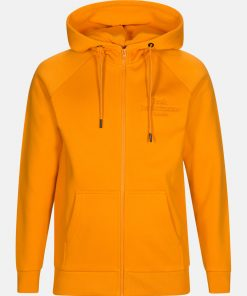 Peak Performance Original Zip Hood Orange