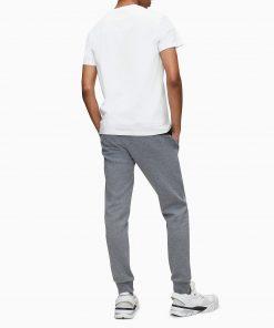 Calvin Klein Round Logo T-shirt White