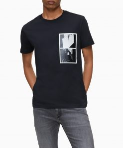 Calvin Klein NY Photo Print T-Shirt Black