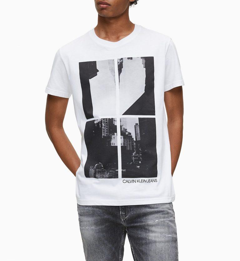 Calvin Klein NY Photo Print T-shirt White