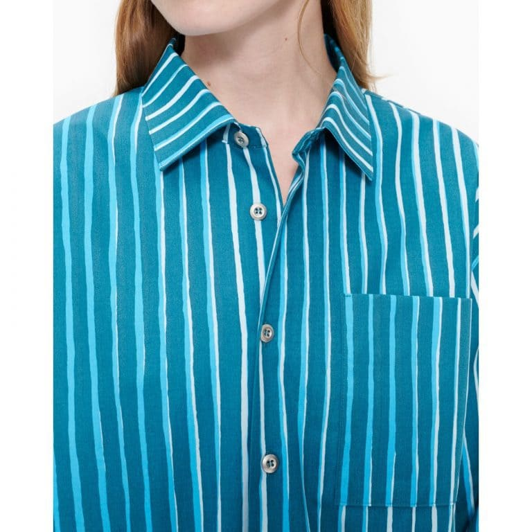 Marimekko Jokapoika Shirt Turquoise