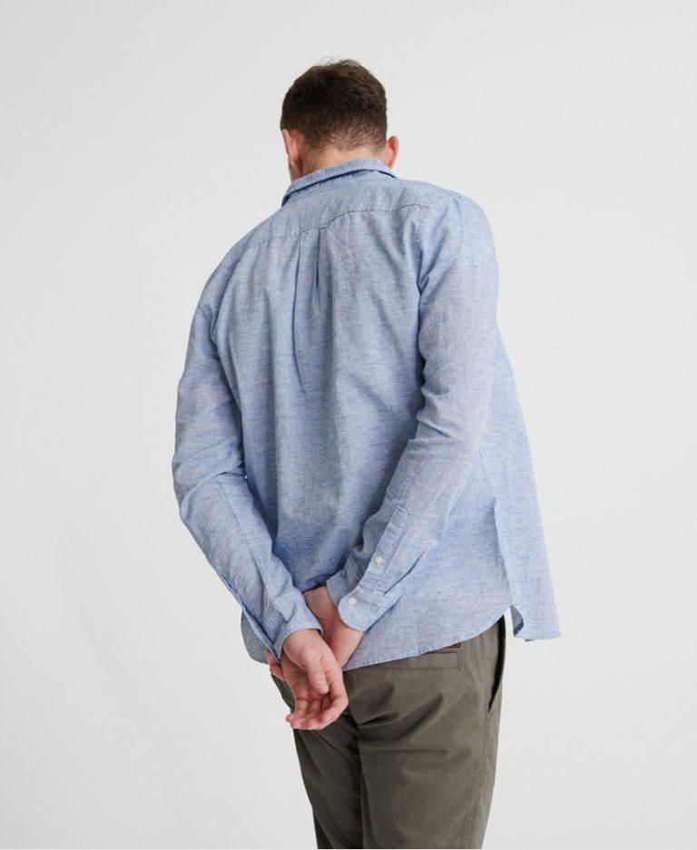 Superdry Loom Shirt Light Blue