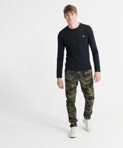 Superdry Collective Longsleeve Top Black