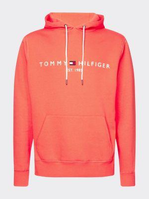 Tommy Hilfiger Logo Hoody Coral